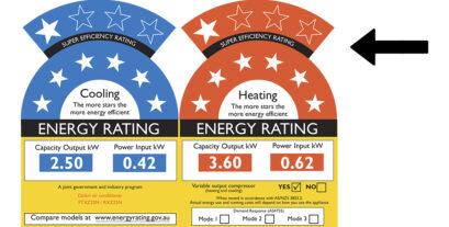 Air Conditioning Energy Efficiency. (EER and COP)
