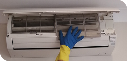 how to clean ac filter step 8