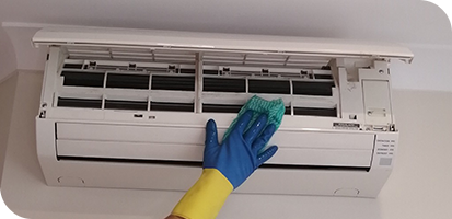 how to clean ac step 6