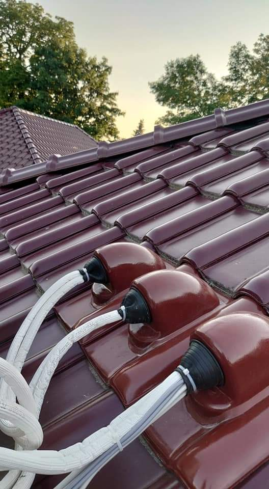 air conditioner roof installation safety pipework