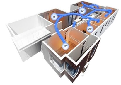 Ducted Air Conditioning Zoning