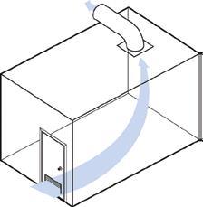 Exhaust bathroom ventilation
